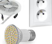 LED osvetlenie, zásuvky,...