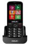 EVOLVEO EasyPhone AD, chytrý mobilní telefon pro seniory s nabíj